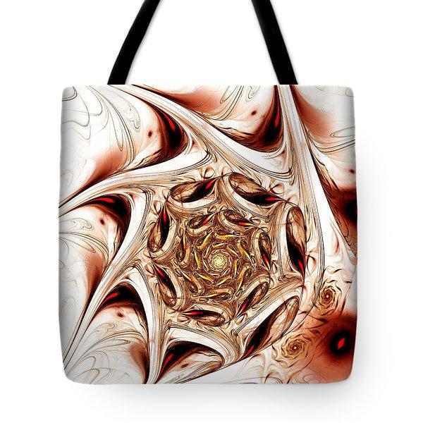 Agitation Tote Bag by Anastasiya Malakhova