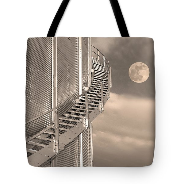 Agri Moon Tote Bag