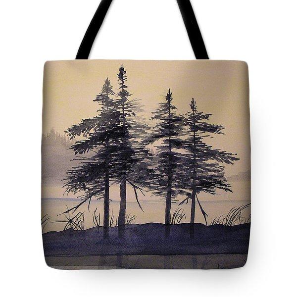 Aguasabon Trees Tote Bag