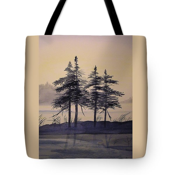 Aguasabon Trees Tote Bag