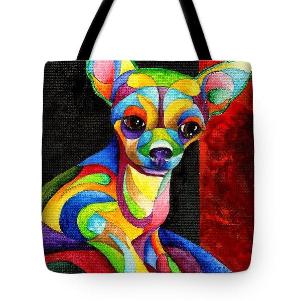 Ah Chihuahua Tote Bag