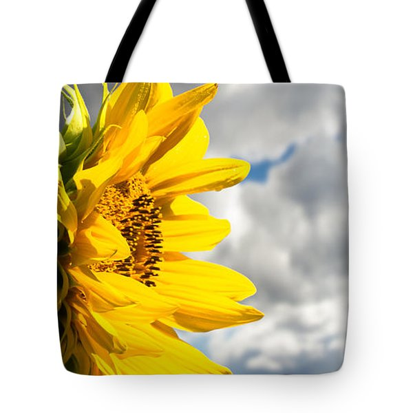 Ah Sunflower Tote Bag by Bob Orsillo