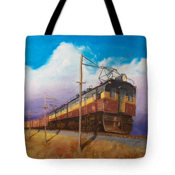 Ahead Of The Weather Tote Bag by Christopher Jenkins