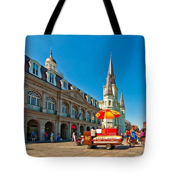 Ahh...new Orleans Tote Bag by Steve Harrington