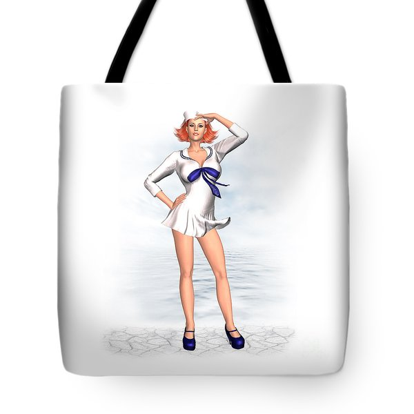 Ahoi Tote Bag by Renate Janssen