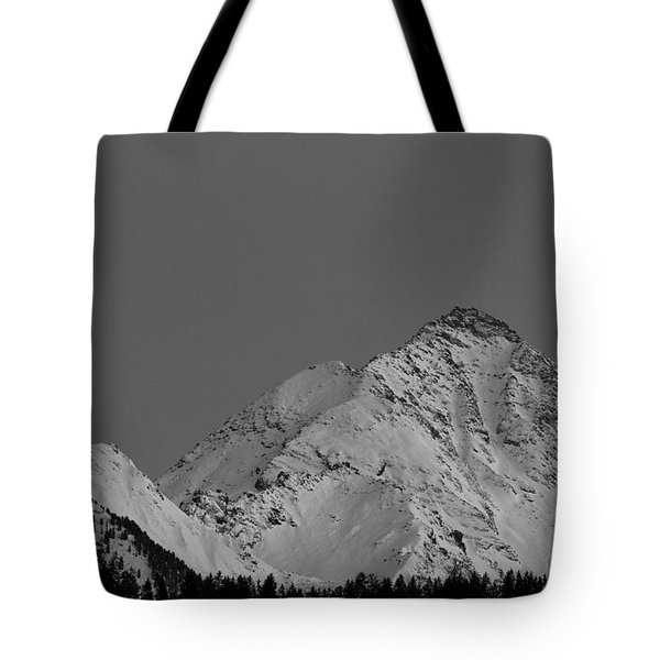 Tote Bag featuring the photograph Ahornspitze After Midnight by Bernd Laeschke
