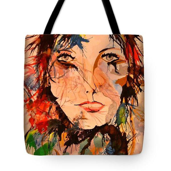 Aidree Tote Bag by Denise Tomasura