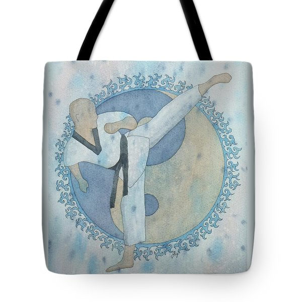 Tote Bag featuring the painting Aim High by Gigi Dequanne