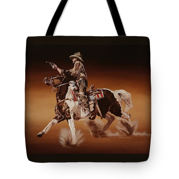 Aiming To Win Tote Bag by Hugh Blanding