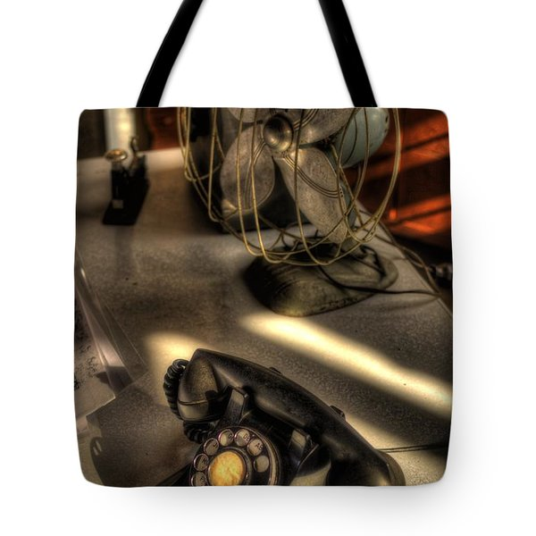 Air Conditioned Office  Tote Bag