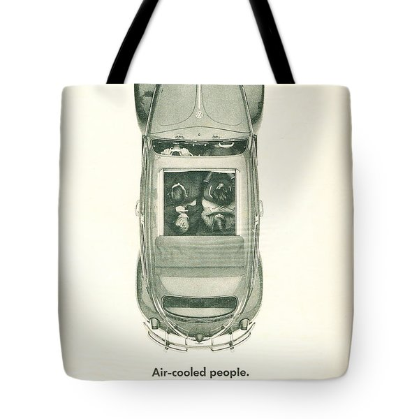 Air Cooled People Tote Bag by Georgia Fowler