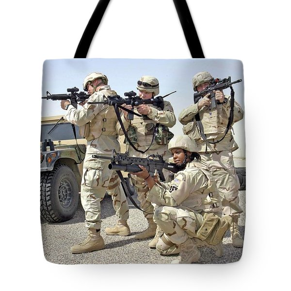 Tote Bag featuring the photograph Air Force Squadron by Science Source