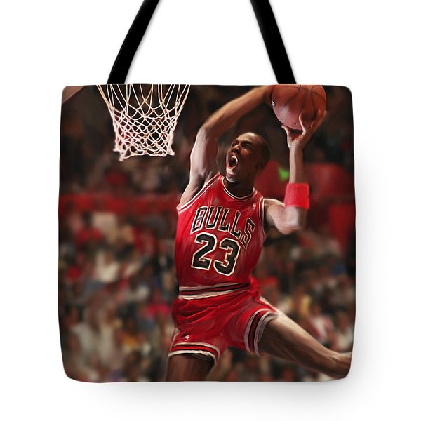 Air Jordan Tote Bag by Mark Spears