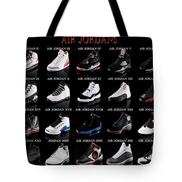Air Jordan Shoe Gallery Tote Bag