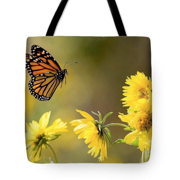 Air Monarch Tote Bag