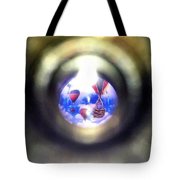 Air Peep Tote Bag