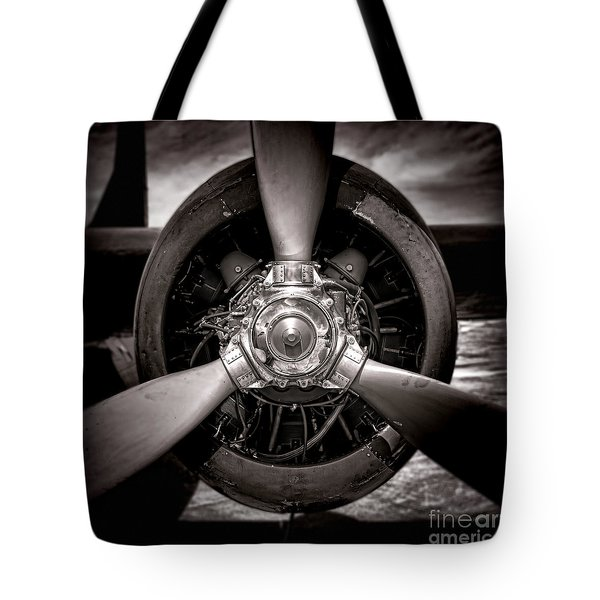 Air Power Tote Bag