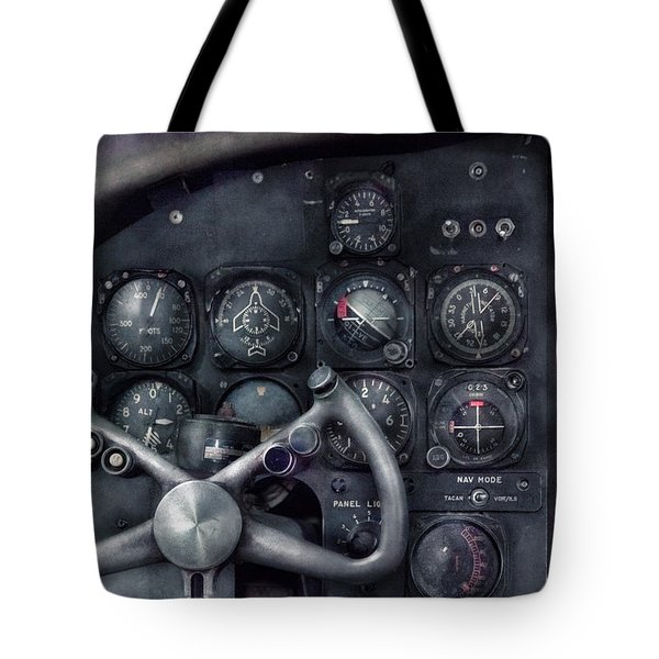 Air - The Cockpit Tote Bag