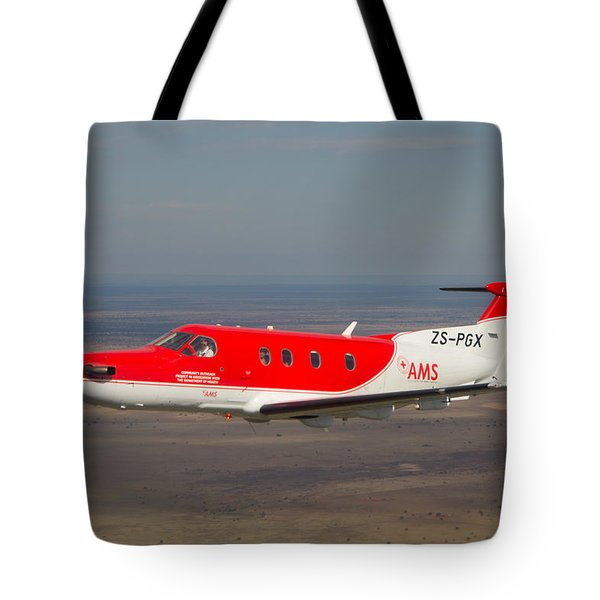 Air To Air Pc 12 Tote Bag by Paul Job