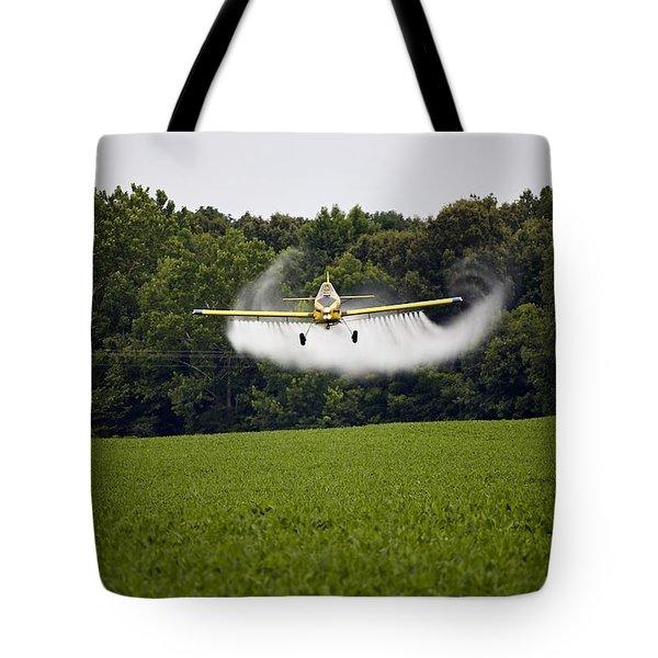 Air Tractor Tote Bag