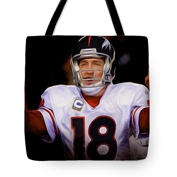 Tote Bag featuring the painting Air Traffic Controller by Brian Reaves