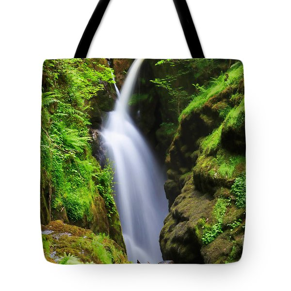 Aira Force In Lake District National Park Tote Bag