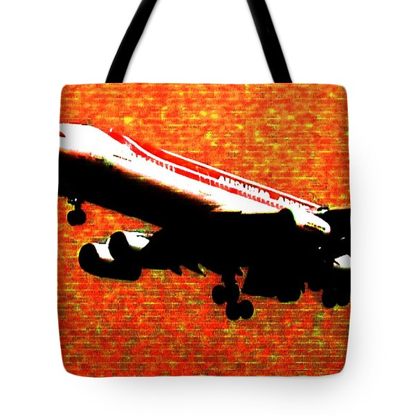 Airbus 340 Tote Bag by Marcello Cicchini