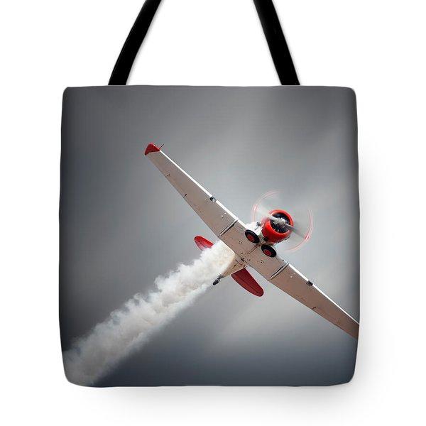Aircraft In Flight Tote Bag