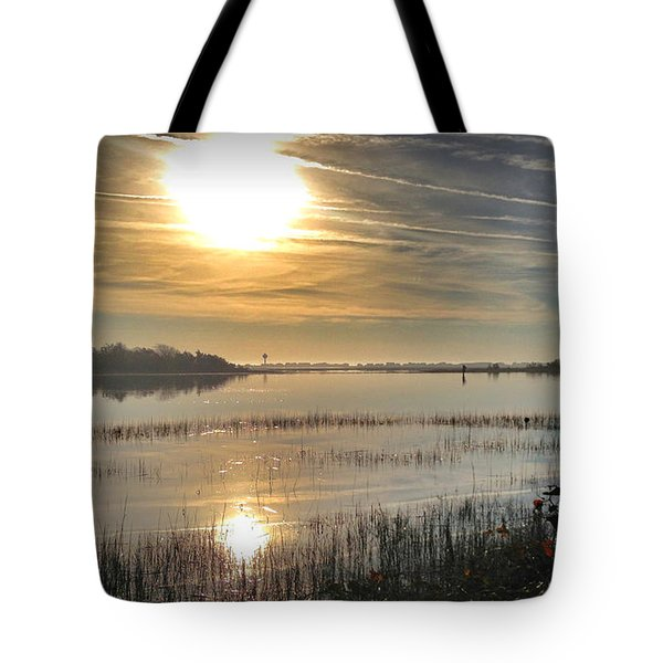 Tote Bag featuring the photograph Airlie Road Morning by Phil Mancuso