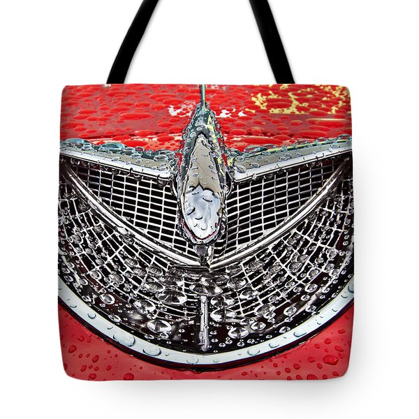 Airplane Hood Ornament Tote Bag