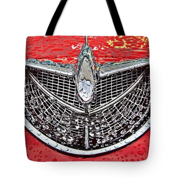 Airplane Hood Ornament Tote Bag by Darleen Stry