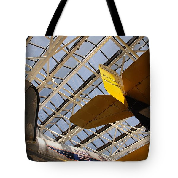 Airplane Rudders Tote Bag