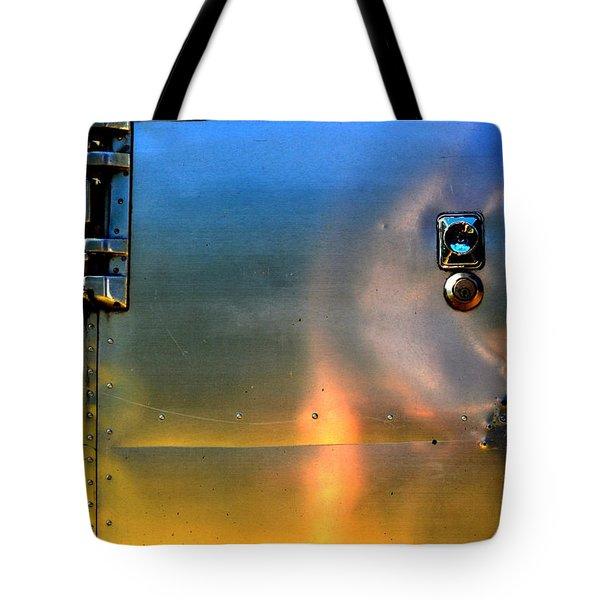Airstream Sunset Tote Bag