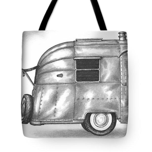 Airstream Vacation Tote Bag by Adam Zebediah Joseph