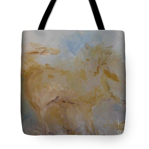 Airwalking Tote Bag by Laurie L