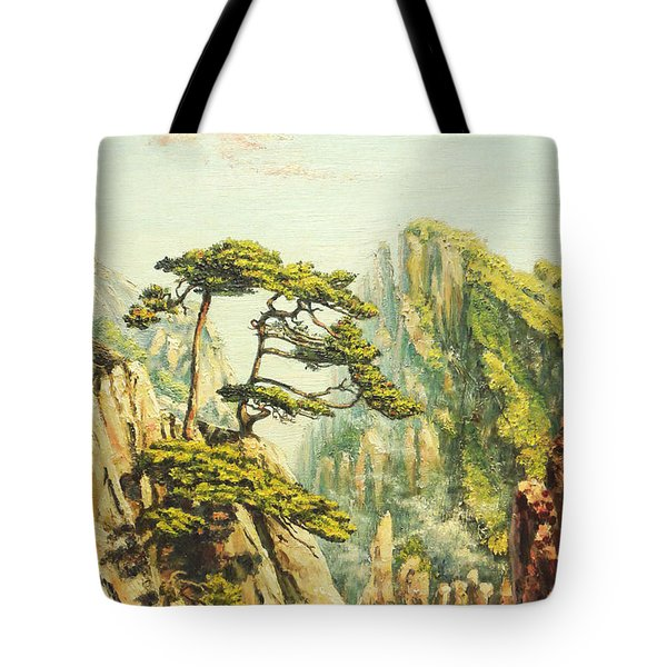 Airy Mountains Of China Tote Bag by Irina Sumanenkova