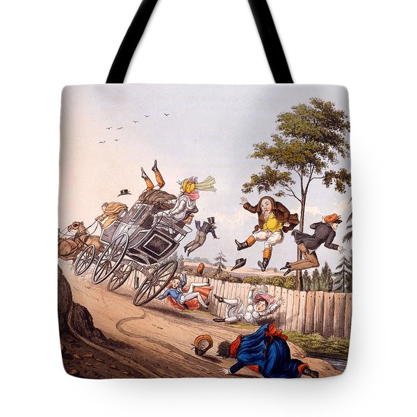 Airy Nothings, Or Scraps And Naughts Tote Bag by M. Egerton