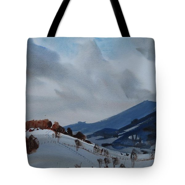 Airyhill Tote Bag by Len Stomski