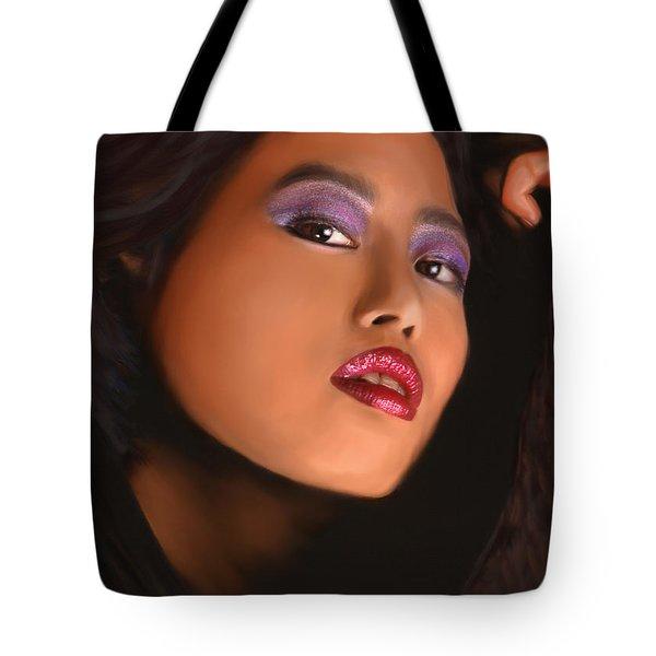 Aiya Tote Bag by Jeff Breiman