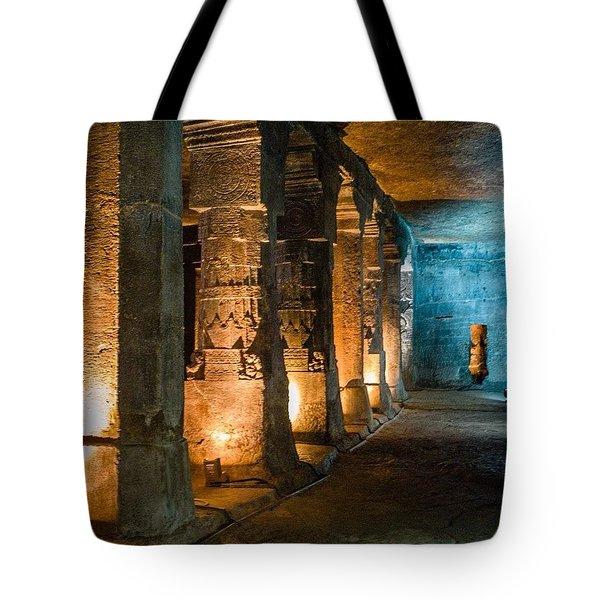 Ajanta Caves Tote Bag