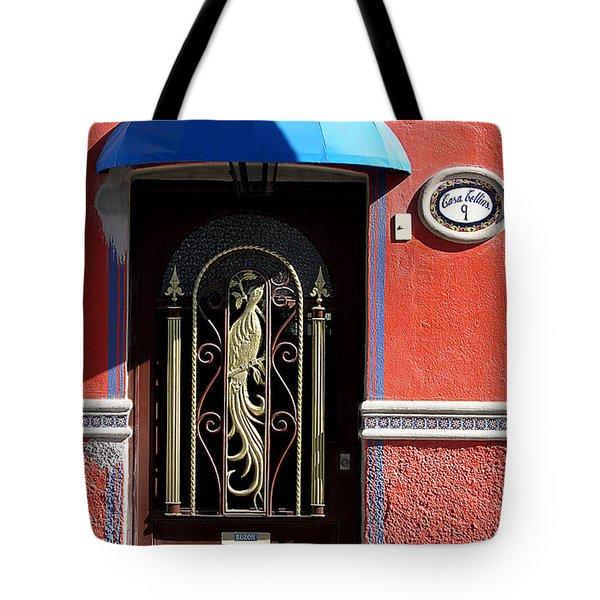 Ajijic Door #8 Tote Bag