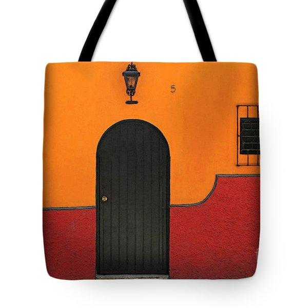 Ajijic Door No.4 Tote Bag
