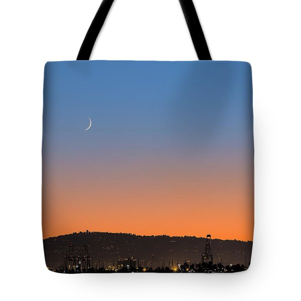 Ajs Moonset Byu Denise Dube Tote Bag