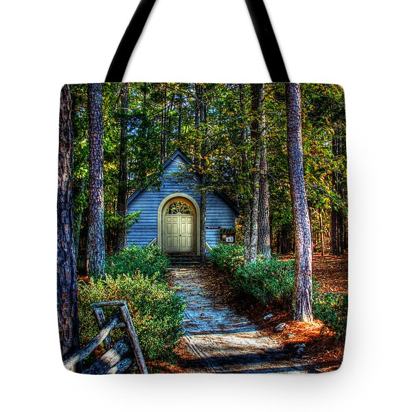 Ajsp Chapel Tote Bag by Andy Lawless
