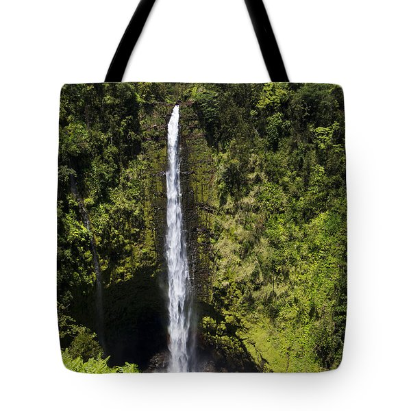 Akaka Falls Tote Bag by Mike Herdering