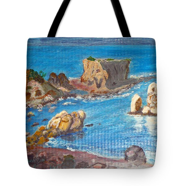 Akamas Paphos Tote Bag by Augusta Stylianou