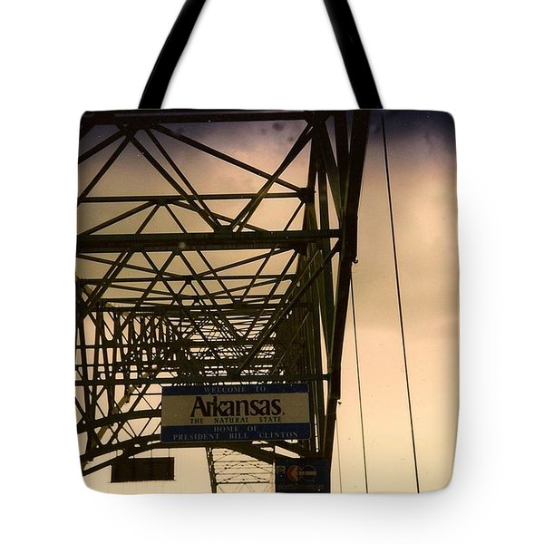 Akansas Here We Come Tote Bag