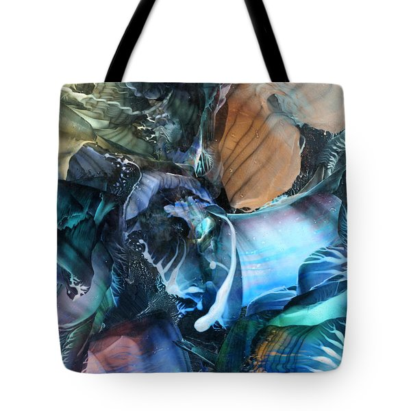 Akashic Memories From Subsurface Tote Bag by Cristina Handrabur