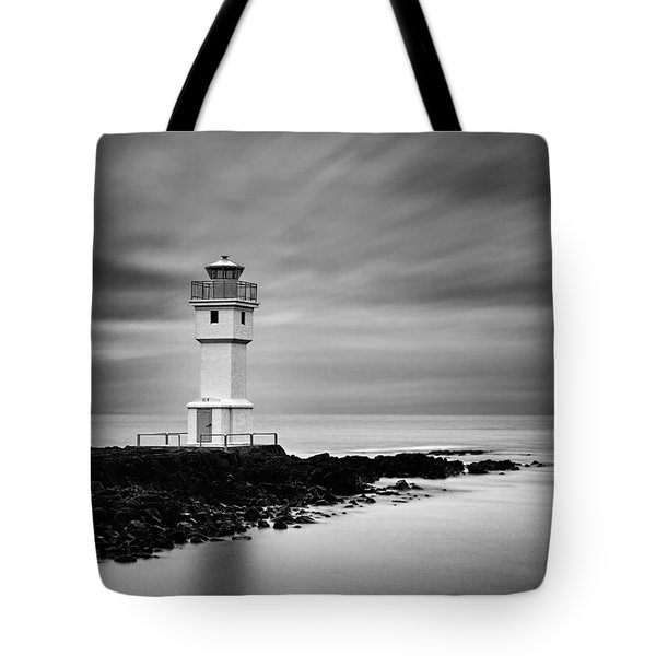 Akranes Lighthouse Tote Bag