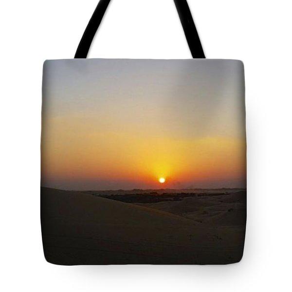 Al Ain Desert 15 Tote Bag